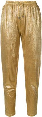 Plein Sud Jeans elasticated waist shorts