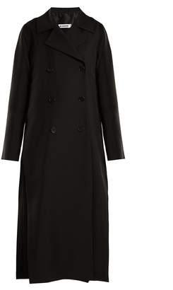 Jil Sander Edimburgo double-breasted wool-blend coat