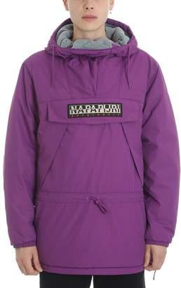 Napapijri Purple Polyester Jacket