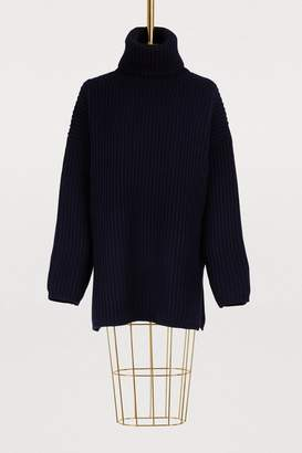 Acne Studios Oversized turtleneck wool sweater