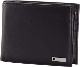 Victorinox Men's Altius 3.0 Amsterdam Leather Bi-Fold Wallet with Passcase