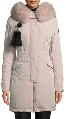 Peuterey Aponi Hooded Parka Coat w/ Detachable Fur