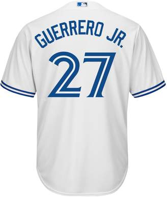 Majestic Vladimir Guerrero Jr. Toronto Blue Jays Athletic-Fit Button-Down Jersey