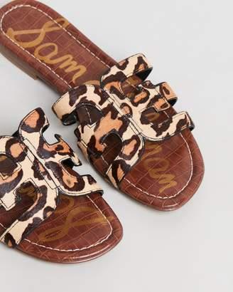6f980b339 Sam Edelman Leopard Sandals - ShopStyle Australia
