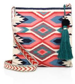 Star Mela Adi Embroidered Crossbody Bag $110 thestylecure.com