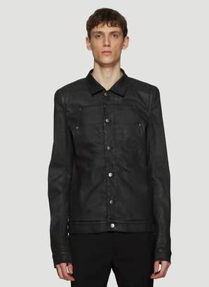 Rick Owens Xtreme Lab Denim Jacket in Black