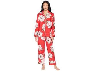 The Cat's Pajamas Savannah Luxe Pima Pajama Set