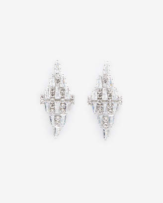 Express Cubic Zirconia Waterfall Earrings