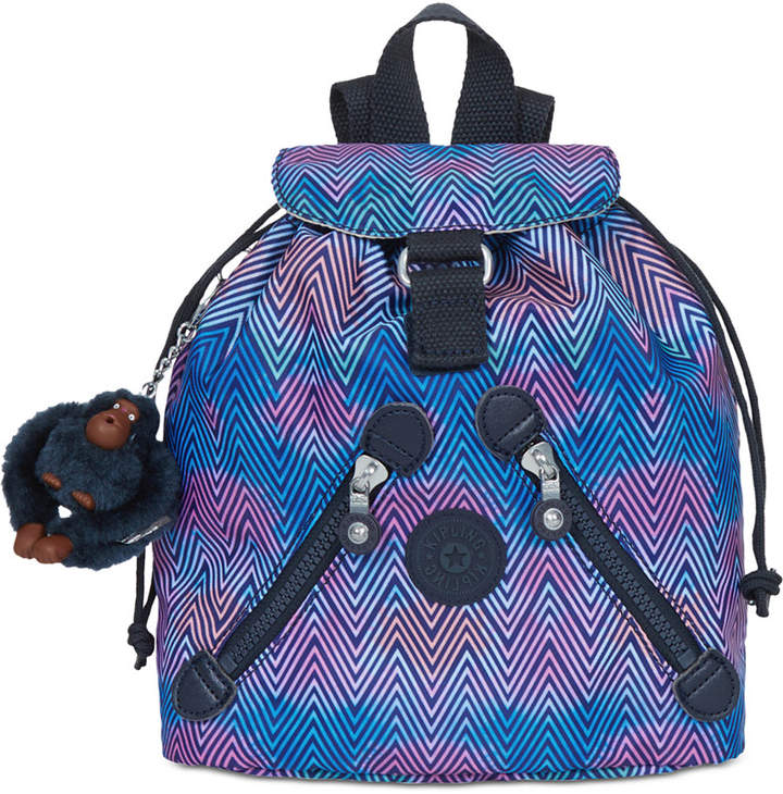 Kipling Fundamental X-Small Backpack - ZESTY LINES - STYLE