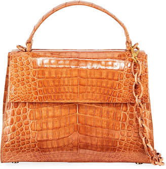 Nancy Gonzalez Medium Crocodile Top Handle Bag