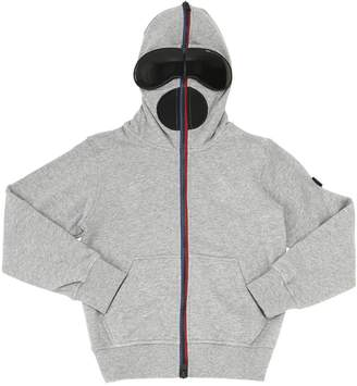 AI Riders On The Storm Zip-Up Cotton Sweatshirt Hoodie W/Lenses