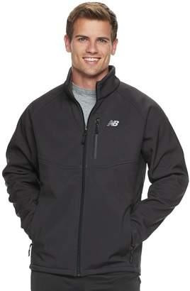 New Balance Men's Sherpa-Lined Softshell Jacket
