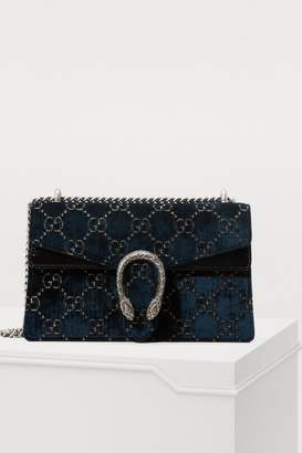 Gucci Dionysus GG velvet MM crossbody bag