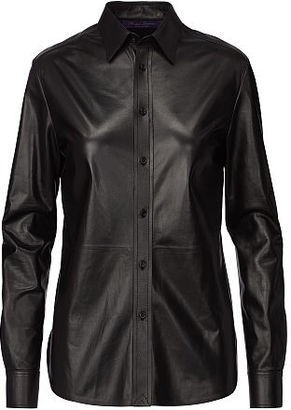 Ralph Lauren Malory Leather Shirt $2,750 thestylecure.com