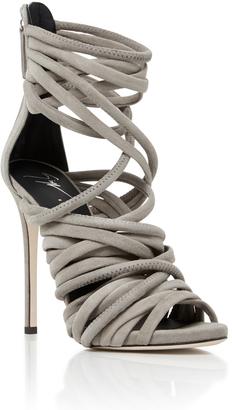 Giuseppe Zanotti Wrap Heel $1,150 thestylecure.com