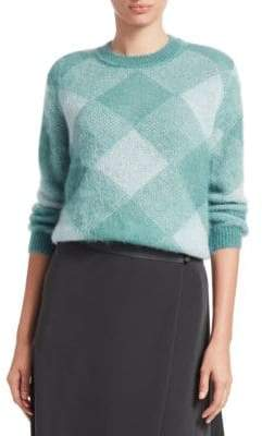 Emporio Armani Abstract Argyle Sweater