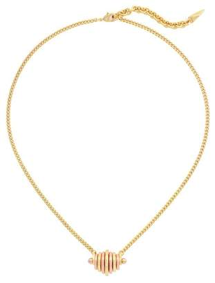 Botkier Two Tone D Ring Necklace