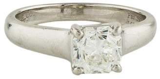 Tiffany & Co. Platinum Lucida Diamond Solitaire Engagement Ring