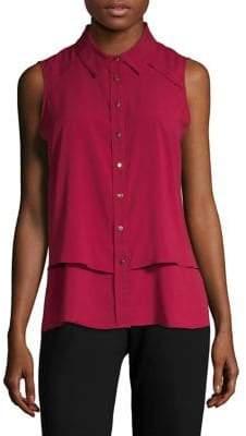 Calvin Klein Collared Sleeveless Shirt