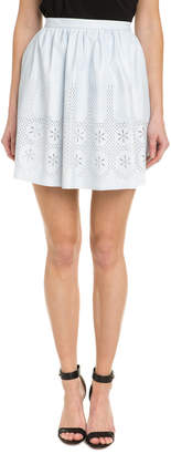 Willow & Clay Embroidered Flare Skirt