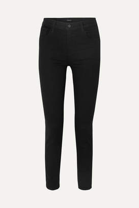 J Brand Ruby 30 High-rise Slim-leg Jeans - Black