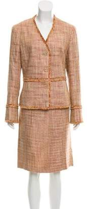 Lafayette 148 Tweed Skirt Suit