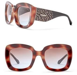 Roberto Cavalli 53mm Square Injected Sunglasses