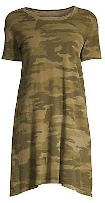 Current/Elliott Women's Camouflage T-Shirt Dress