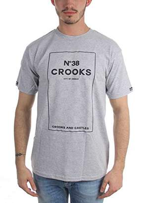 Crooks & Castles Men's No.38 Checkered T-Shirt
