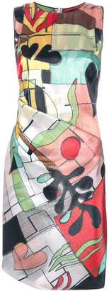 Giorgio Armani abstract print dress