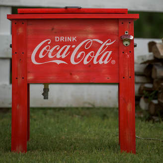 LeighCountry 54 Qt. Coca-Cola Country Patio Cooler