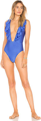 Lovers + Friends Ruffled Up One Piece