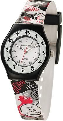 Freegun ee5187-Boys 'Watch-Analogue Quartz-White Dial-Bracelet Multicolor Plastic