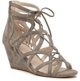 Kenneth Cole New York Dylan Suede Wedge Sandal