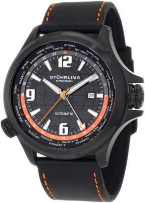 Stuhrling Original Men's Voyager Classic World Time Dial Watch 285L.3355101