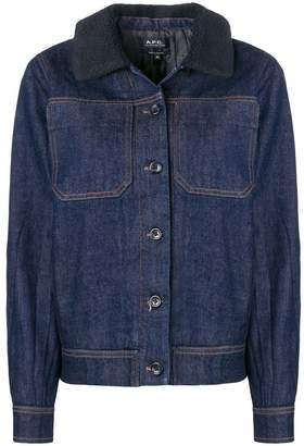 A.P.C. buttoned jacket