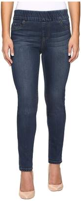 Liverpool Petite Sienna Leggings Pull-On in Petrol Wash Women's Jeans