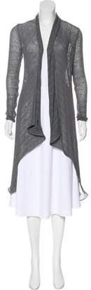 Donna Karan Open Knit Cardigan