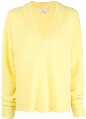 Tibi oversized V-neck jumper