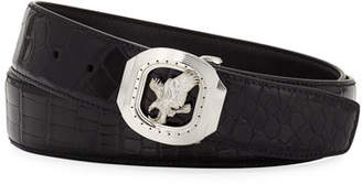 Stefano Ricci New Eagle Crocodile Belt