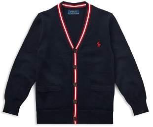 Ralph Lauren Boys' Cotton Collegiate Sweater - Little Kid