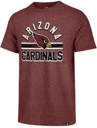 '47 Men's Arizona Cardinals Team Stripe Match Tri-Blend T-Shirt