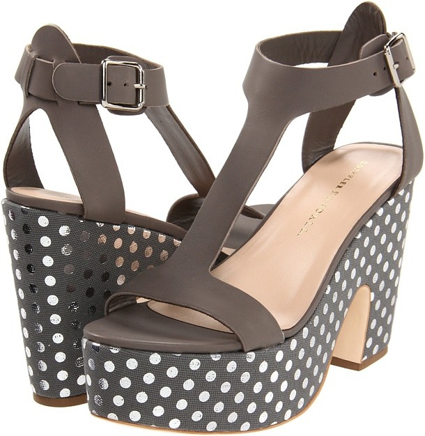 Loeffler Randall - Chloe (Grey) - Footwear