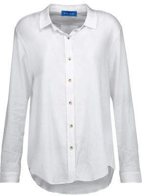 MiH Jeans Flight Cotton-Gauze Shirt
