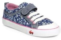 See Kai Run Baby's, Toddler's& Girl's Kristin Floral Canvas Sneakers