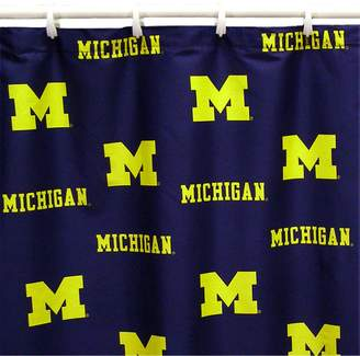 NCAA Kohl's College Covers Michigan Wolverines Printed Shower Curtain Cover