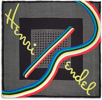 Henri Bendel Hb Sport Silk Scarf