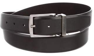 Giorgio Armani Metal Buckle Leather Belt
