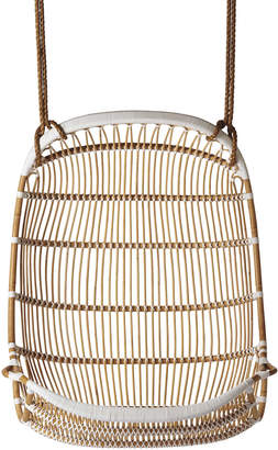 Serena and Lily Double Hanging Rattan Chair