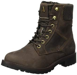 Gaastra Women's Lucia HIGH PTH W Combat Boots, (Dark Brown 2200)